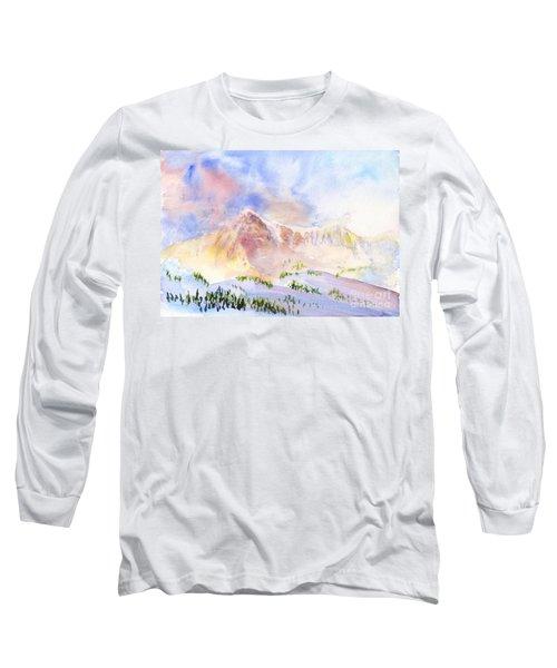 Sunrise On Mount Ogden Long Sleeve T-Shirt