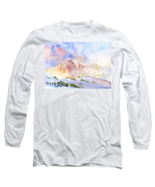 Sunrise On Mount Ogden Long Sleeve T-Shirt