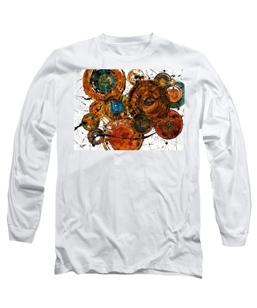 Long Sleeve T-Shirt featuring the painting Sunset - 1274.121412 by Kris Haas
