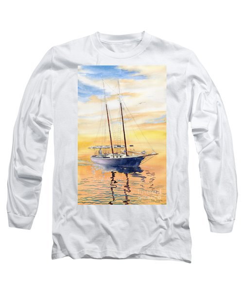 Sunset Cruise Long Sleeve T-Shirt by Melly Terpening