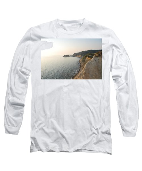 Long Sleeve T-Shirt featuring the photograph Sunset Gourna by George Katechis