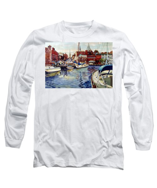 Sunset On The Harbor Long Sleeve T-Shirt