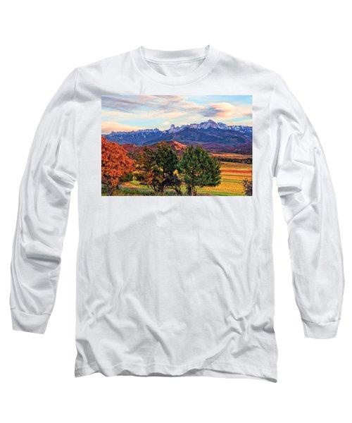 Sunset Over Owl Creek Pass Long Sleeve T-Shirt