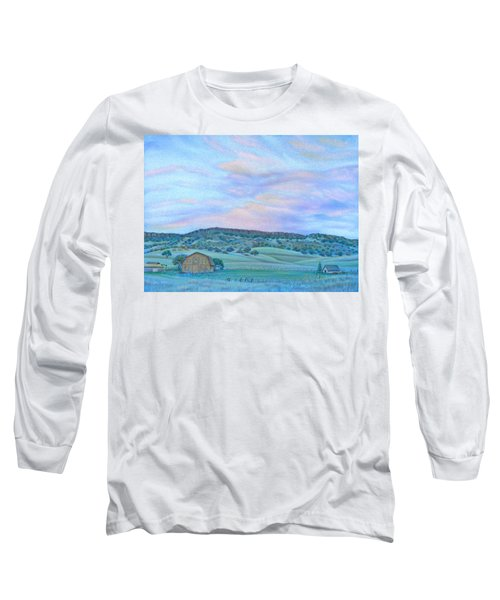 Sunset Over Table Mountain Long Sleeve T-Shirt
