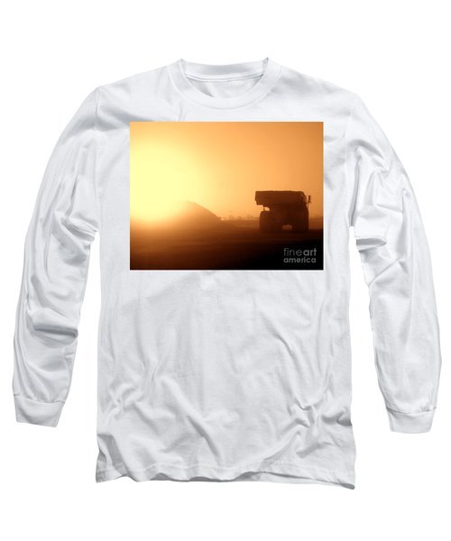 Sunset Truck Long Sleeve T-Shirt