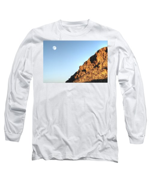 Long Sleeve T-Shirt featuring the photograph Superstition Mountain by Lynn Geoffroy