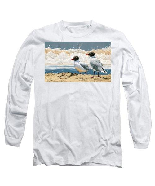 Surf 'n' Turf - Franklin's Gulls Long Sleeve T-Shirt