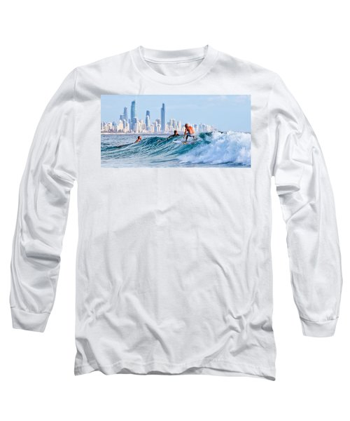 Surfing Burleigh Long Sleeve T-Shirt