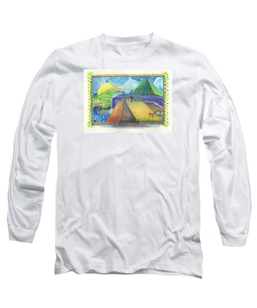 Surreal Landscape 1 Long Sleeve T-Shirt by Christina Verdgeline
