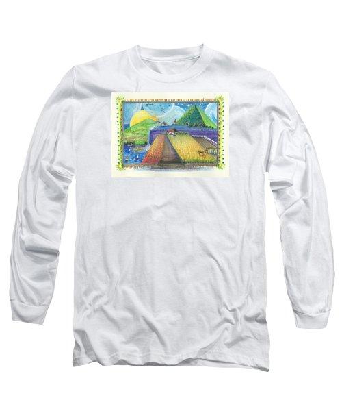 Surreal Landscape 1 Long Sleeve T-Shirt