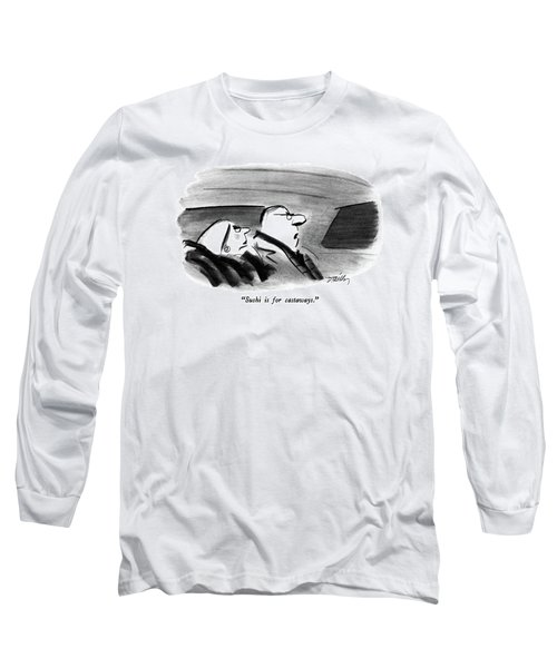 Sushi Is For Castaways Long Sleeve T-Shirt