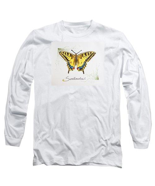 Swallowtail - Butterfly Long Sleeve T-Shirt