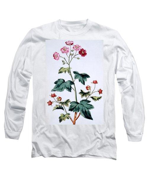 Sweet Canada Raspberry Long Sleeve T-Shirt