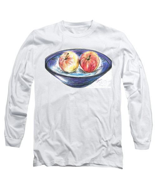 Sweet Crunchy Apples Long Sleeve T-Shirt