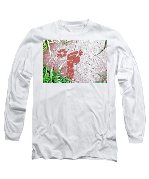 Long Sleeve T-Shirt featuring the photograph Sweet Steps by Charlotte Schafer