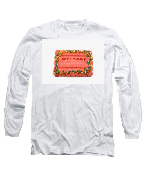 Sweet Welcome Mat Long Sleeve T-Shirt