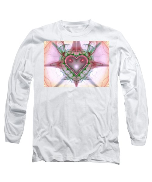 Sweetheart Fractal Long Sleeve T-Shirt