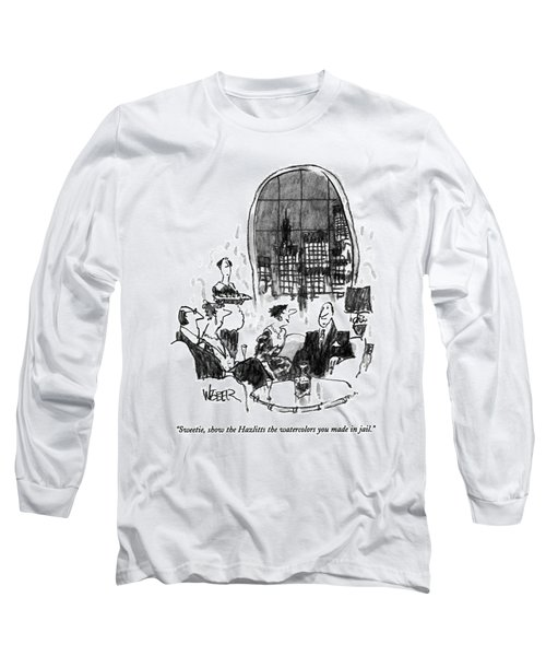 Sweetie, Show The Hazlitts The Watercolors Long Sleeve T-Shirt
