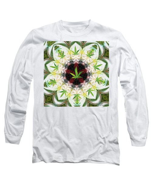 Sweetleaf Mandala Long Sleeve T-Shirt