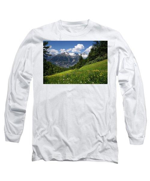 Switzerland Bietschhorn Long Sleeve T-Shirt