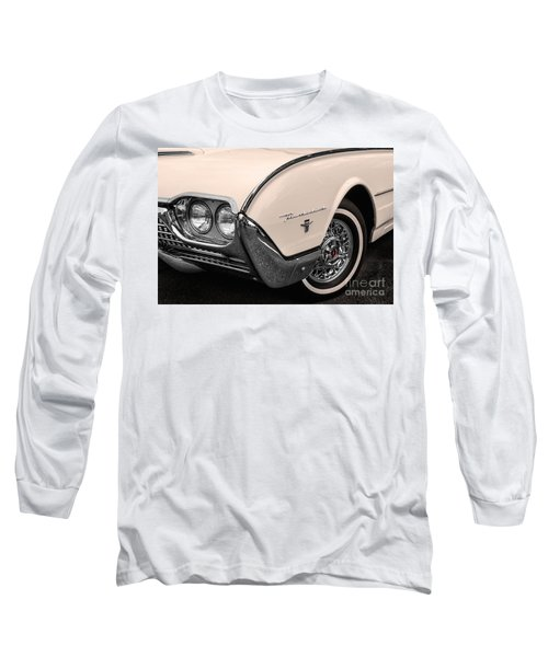 T-bird Fender Long Sleeve T-Shirt by Jerry Fornarotto