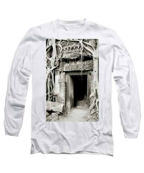 Ta Prohm Doorway Long Sleeve T-Shirt