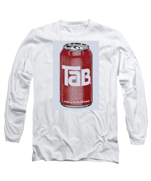 Tab Ode To Andy Warhol Long Sleeve T-Shirt