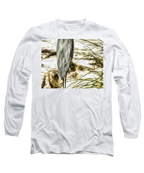 Tail Feathers Long Sleeve T-Shirt