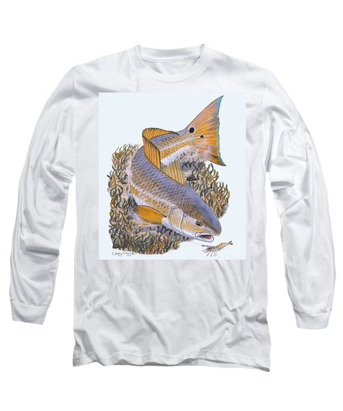 Tailing Redfish Long Sleeve T-Shirt