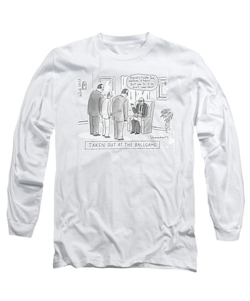 Taken Out At The Ballgame Long Sleeve T-Shirt