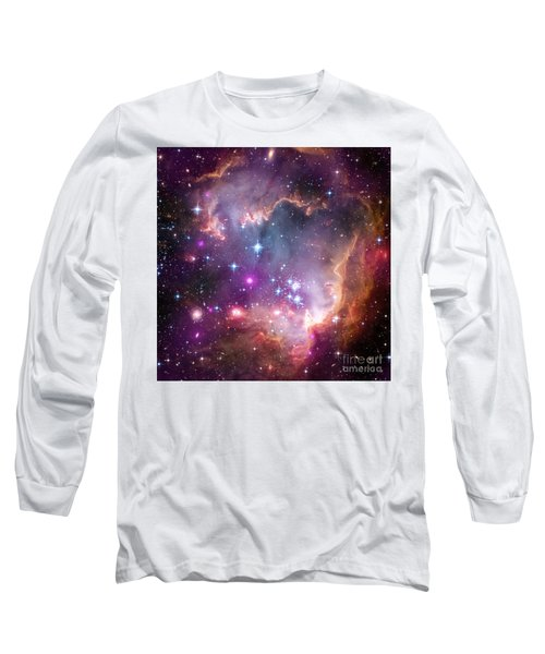 Long Sleeve T-Shirt featuring the  Taken Under The Wing Of The Small Magellanic Cloud by Paul Fearn