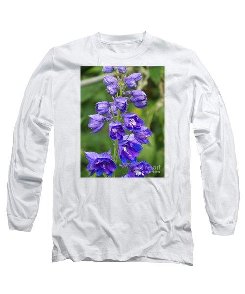 Long Sleeve T-Shirt featuring the photograph Tall Garden Beauty by Eunice Miller
