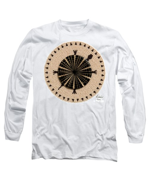 Tan Shell Long Sleeve T-Shirt