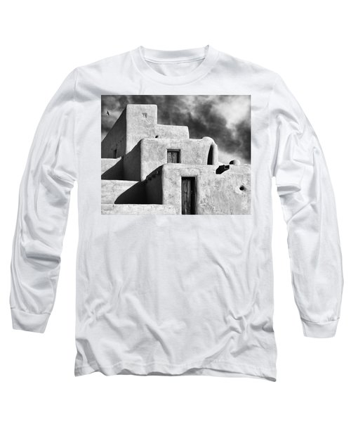 Taos Pueblo Stacks Long Sleeve T-Shirt