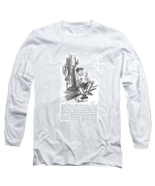 Tasty Curtiss 5c Baby Ruth Candy Is Made Long Sleeve T-Shirt