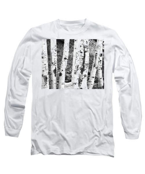 Tattoo Trees Long Sleeve T-Shirt by Rebecca Margraf
