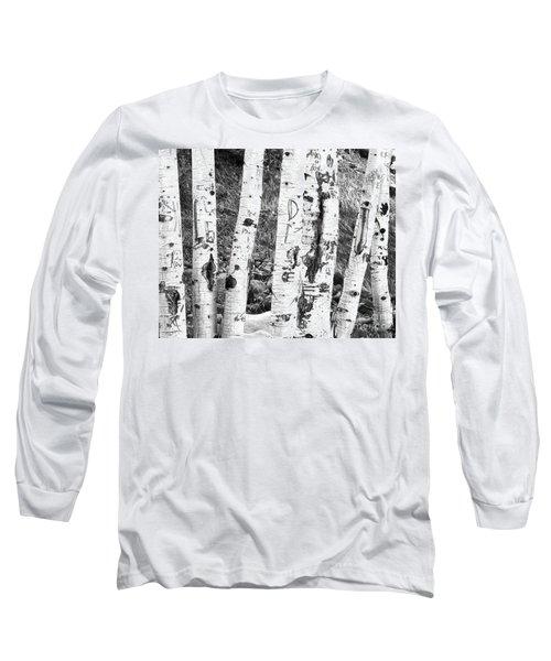 Tattoo Trees Long Sleeve T-Shirt