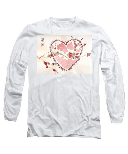 Teach Us - White Long Sleeve T-Shirt