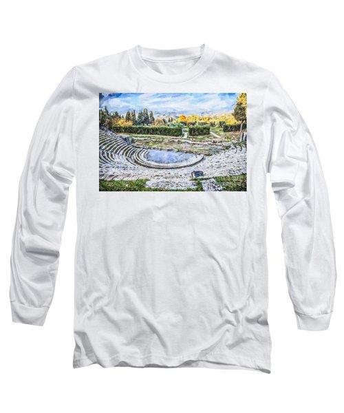 Teatro Romano Fiesole Tuscany Long Sleeve T-Shirt