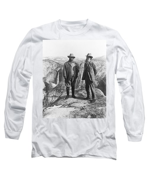 Teddy Roosevelt And John Muir Long Sleeve T-Shirt