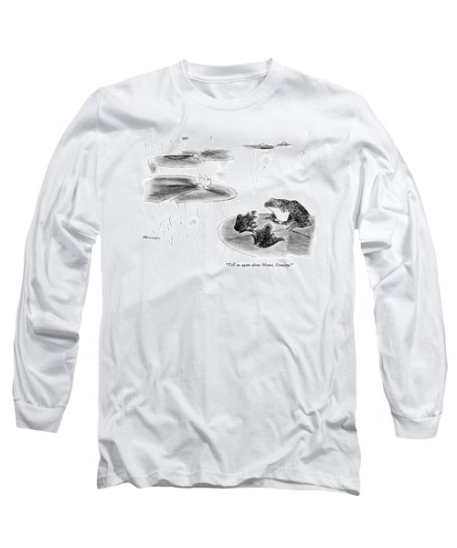 Tell Us Again About Monet Long Sleeve T-Shirt