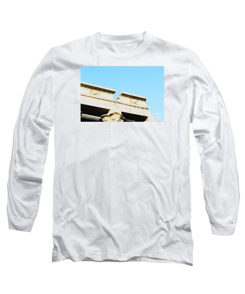 Long Sleeve T-Shirt featuring the photograph Temple At Luxor by Cassandra Buckley