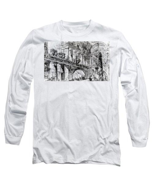 Temple Courtyard Long Sleeve T-Shirt