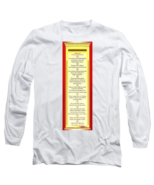 Tenfold Path Of Divinity Long Sleeve T-Shirt