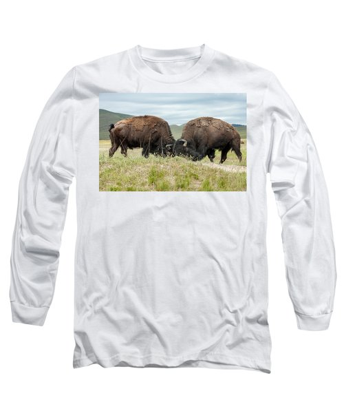 Long Sleeve T-Shirt featuring the photograph Test Of Strength by Jack Bell