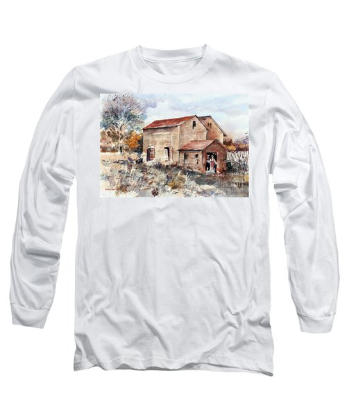 Texas Barn Long Sleeve T-Shirt