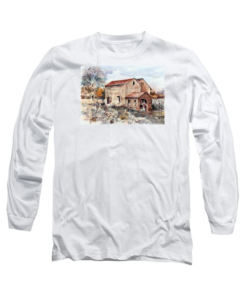 Texas Barn Long Sleeve T-Shirt