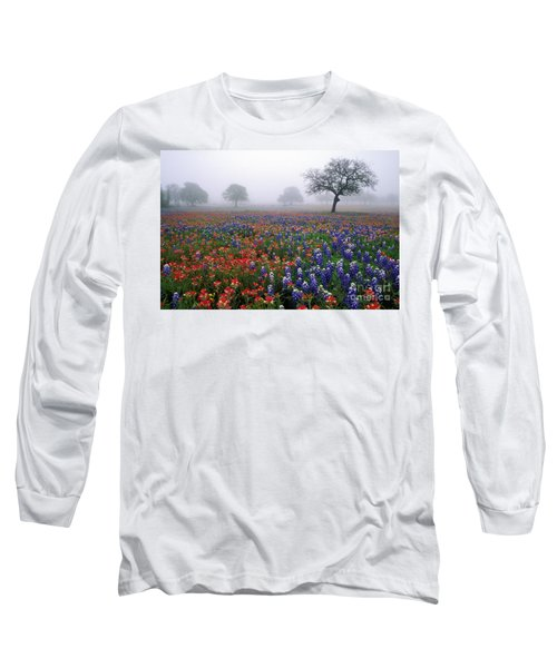 Texas Spring - Fs000559 Long Sleeve T-Shirt