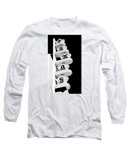 Long Sleeve T-Shirt featuring the photograph Texas Theater by Darryl Dalton