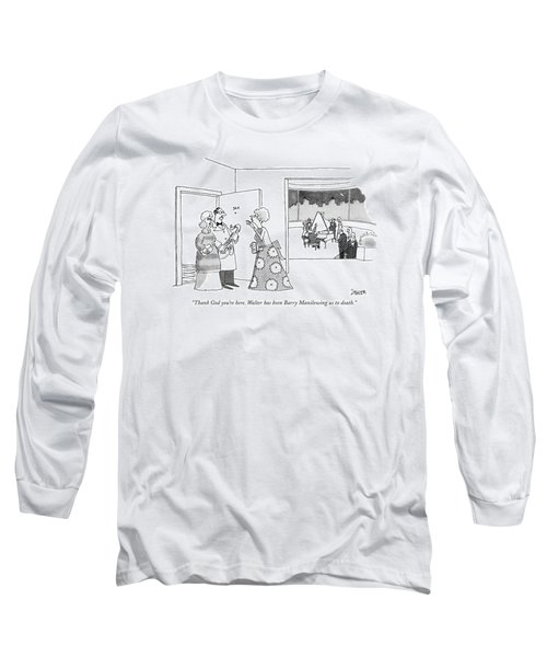 Thank God You're Here. Walter Has Been Barry Long Sleeve T-Shirt